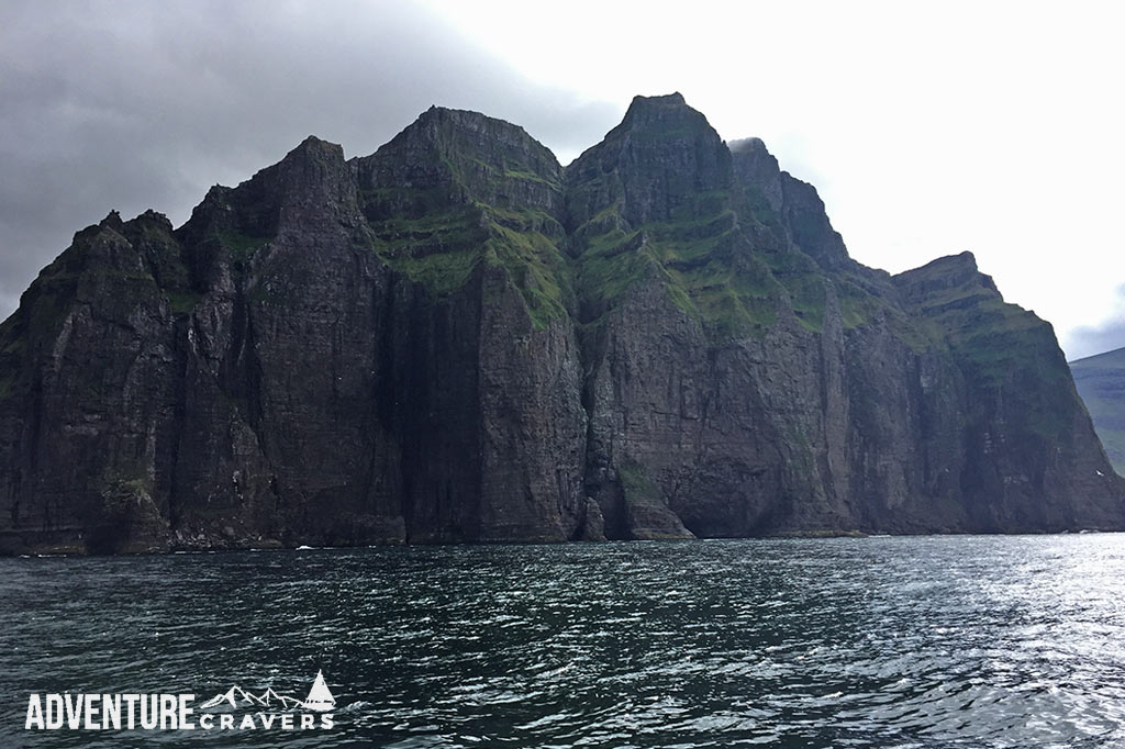 Northern Sea Cliffs of the Faroe Islands