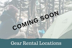 Adventure Travel Gear Rental Locations Coming Soon