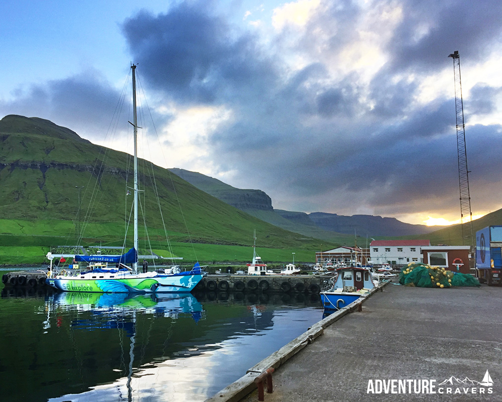 Rubicon3's Hummingbird in Eysturoy_at Sunset - Faroe Islands