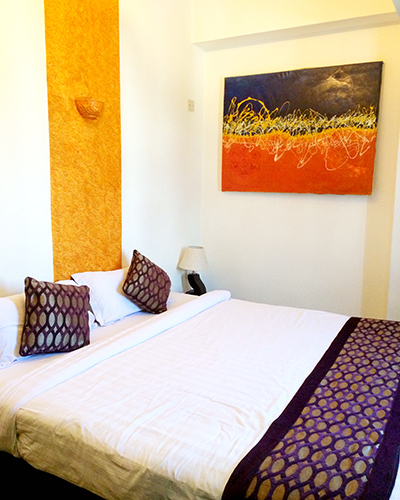 Kathmandu Hotel Bed