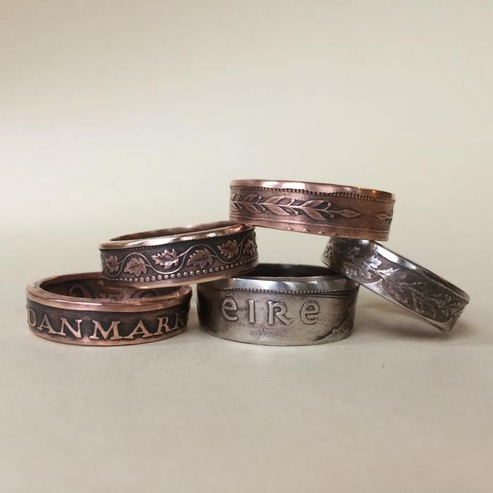 KellyAnnies Country Coin Rings