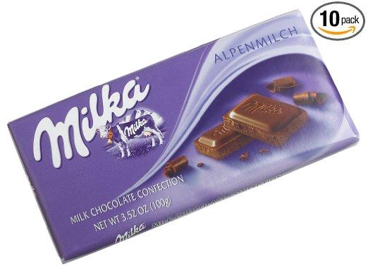 Unique Travel Buddy Gift Ideas - European Chocolate - Milka
