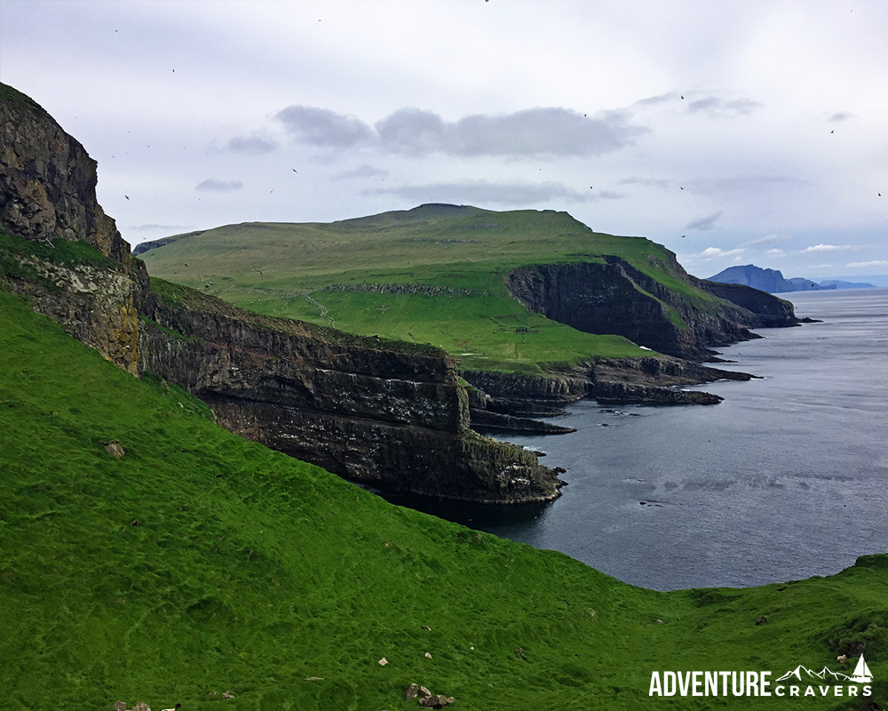 Mykines Landscape on the Faroe Islands