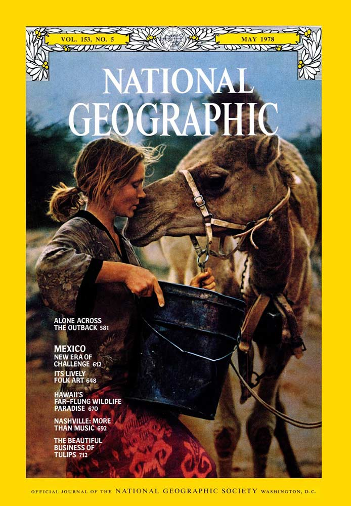 National Geographic Robyn Davidson Cover