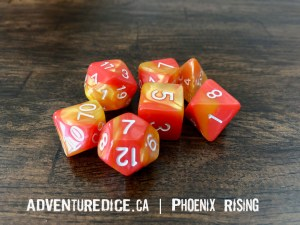 Phoenix Rising Dice