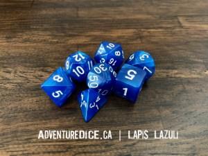 Lapis Lazuli Dice