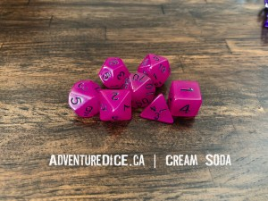 Cream Soda Dice