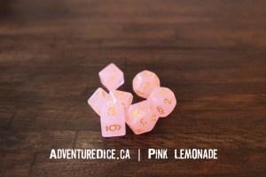 Pink Lemonade Dice