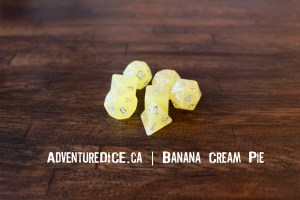 Banana Cream Pie Dice