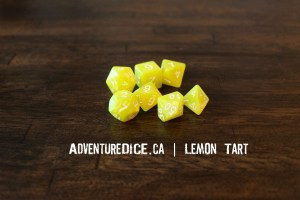 Lemon Tart Dice