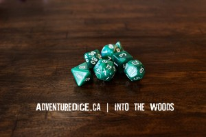 Into the Woods Dice