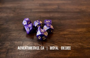 Royal Decree Dice