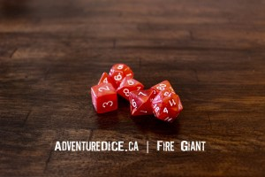 Fire Giant Dice