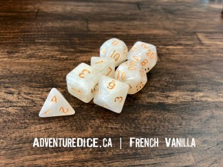 French Vanilla RPG dice
