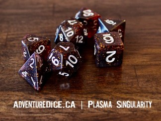 Plasma Singularity RPG dice