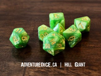 Hill Giant RPG dice