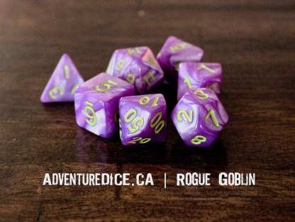 Rogue Goblin RPG dice