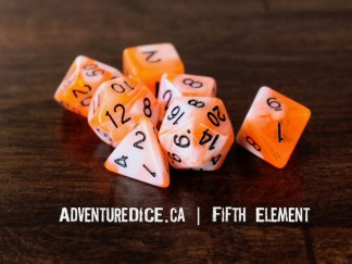 Fifth Element RPG dice