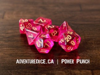 Power Punch RPG dice set