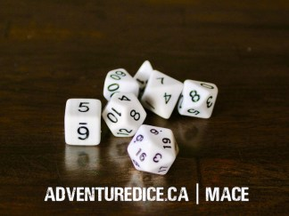 Mace dice set