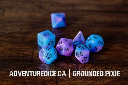 Grounded Pixie dice set