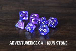 Ioun Stone dice set
