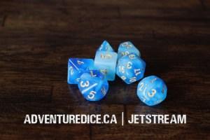 Jetstream dice set