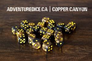 Copper Canyon 24 PK D6 Dice Set