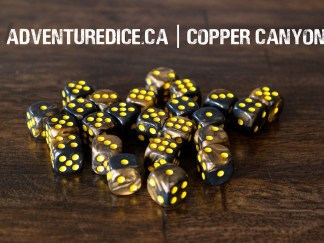 Copper Canyon 24 PK D6 Dice Set