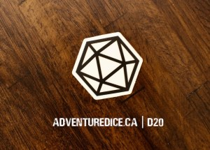 D20 Shadow sticker