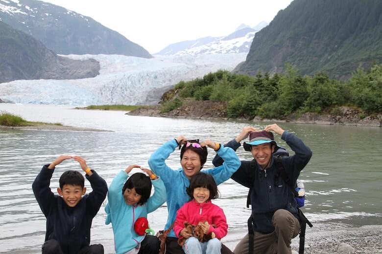 ジュノーの氷河の写真