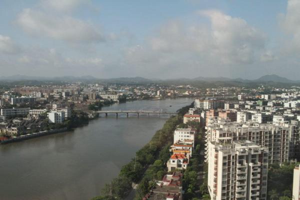 ホテルからの眺めの写真