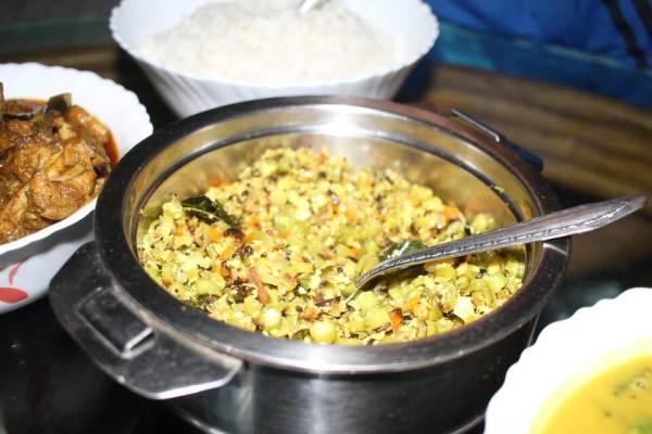 ケララ料理豆写真