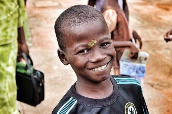 ナイジェリアの男の子写真