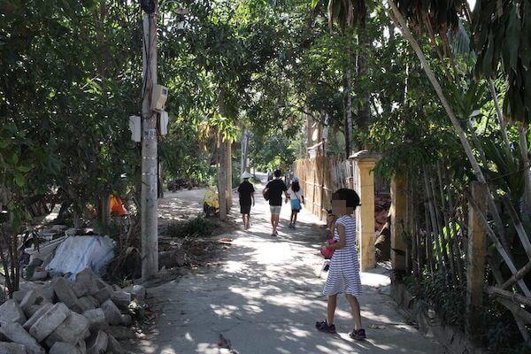 ライフビーチヴィラの通りの写真