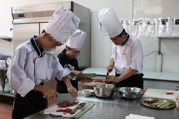 料理教室体験の写真