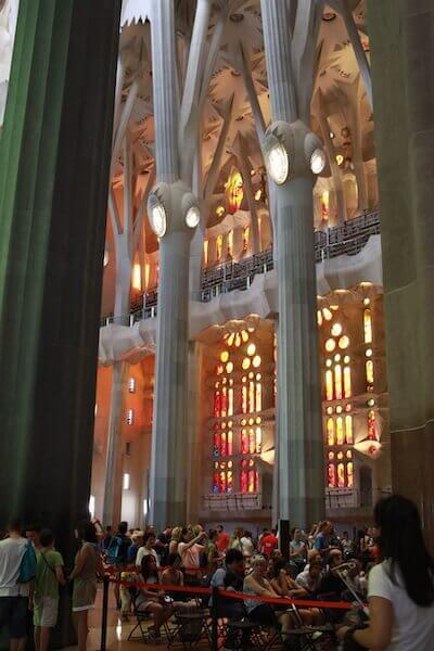サグラダ・ファミリア聖堂写真
