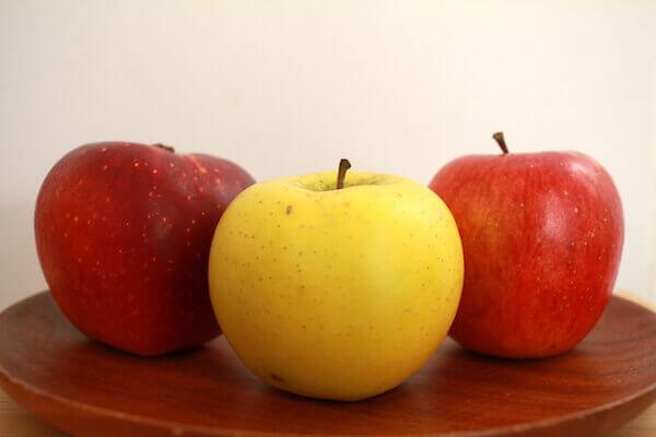 りんご三兄弟の写真