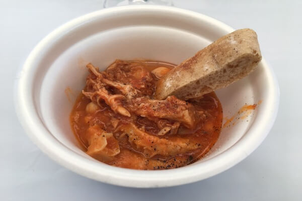 ノンナジーニャの食べ物の写真