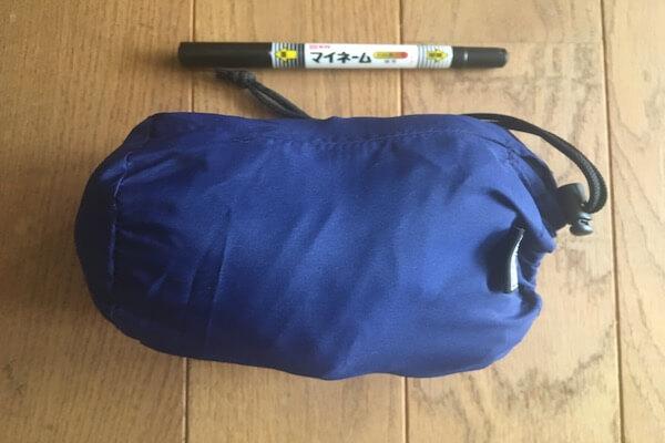 持ち運び用の袋の写真