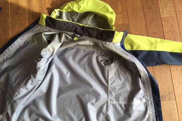 ジャケットの内側の写真