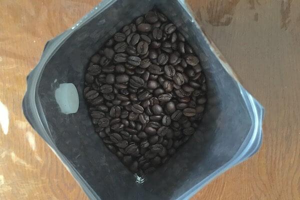コスタリカのコーヒー豆の写真