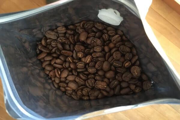 グアテマラコーヒーの豆の写真