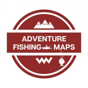 Adventure Fishing Maps Logo