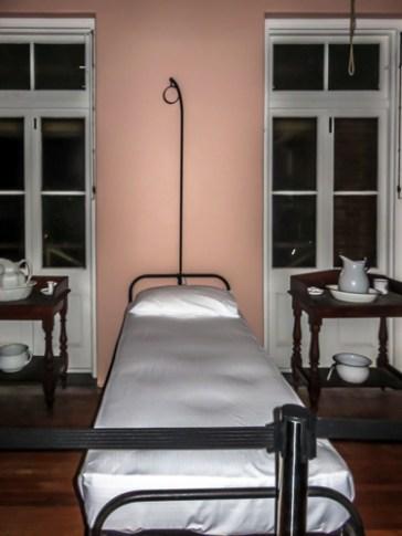 Original hospital bed.