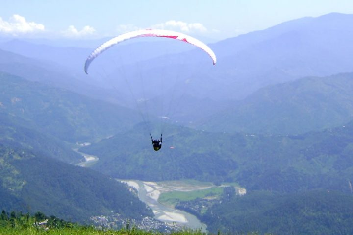 Flying at Chakung