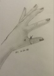 Hand Drawing, Pencil, 25 December 2008
