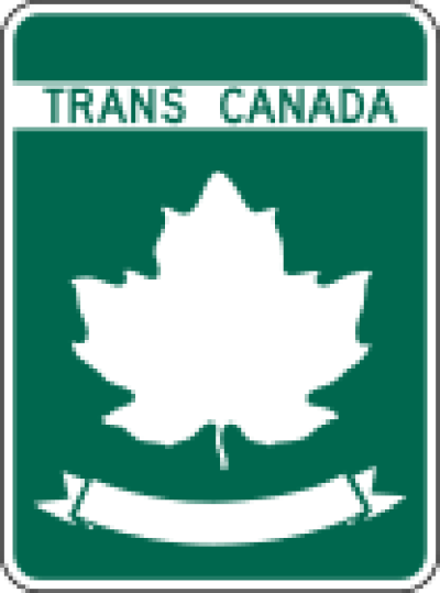 Trans-Canada Highway Route Marker