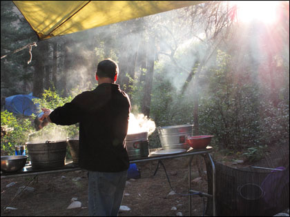 Kitchen_steam_morning_Middle_Fork_Idaho_Salmon