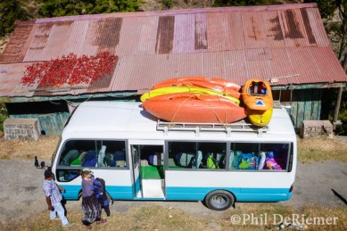 chilis, kayaks, roof, Bhutan